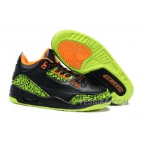 Big Discount! 66% OFF! Air Jordan 3 Enfant Noir/vert
