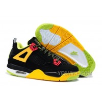 Big Discount! 66% OFF! Air Jordan 4 Enfant Noir/Jaune