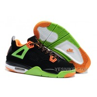 Big Discount! 66% OFF! Air Jordan 4 Enfant Noir/Vert