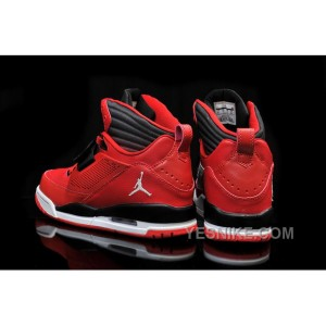 Big Discount! 66% OFF! Air Jordan Flight 97 Black Gym Red White Cheap For Sale