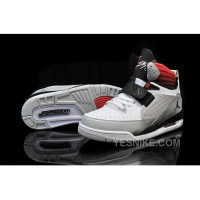 Big Discount! 66% OFF! Air Jordan Flight 97 White/Platinum/Gym Red For Sale