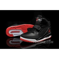 Big Discount! 66% OFF! Air Jordan Flight 97 Black White Red Cheap For Sale