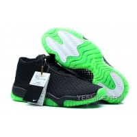 Big Discount! 66% OFF! Air Jordan Future Black/Green For Sale