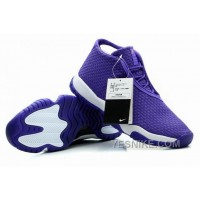 Big Discount! 66% OFF! Air Jordan Future Glow Purple White For Sale