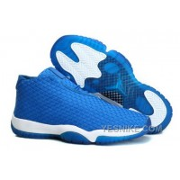 Big Discount! 66% OFF! Coupon For Nike Air Jordan Future Glow Mens Shoes Blue White DM8sr