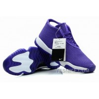 Big Discount! 66% OFF! Air Jordans Future Glow Purple White For Sale