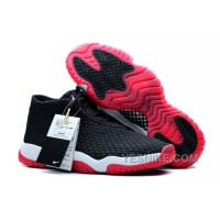 Big Discount! 66% OFF! Air Jordans Future Black/Varsity Red-White For Sale