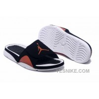 Big Discount! 66% OFF! 2016 Jordan Hydro IV Retro Black Orange White For Sale MZyy3