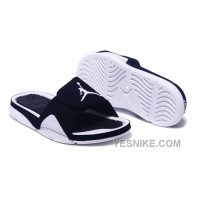 Big Discount! 66% OFF! 2016 Jordan Hydro IV Retro Black White For Sale MaFyR