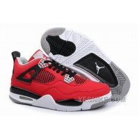 Big Discount! 66% OFF! Air Jordan IV (4) Retro Red Black White-48 RHPBd