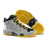 Big Discount! 66% OFF! Air Jordan Melo M10 Metallic Silver Black/Volt For Sale