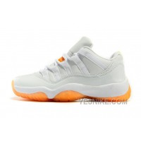 Big Discount! 66% OFF! Air Jordan 11 Retro Low GS Citrus 36--40