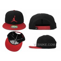 Big Discount! 66% OFF! Air Jordan Snapbacks Noir/Rouge