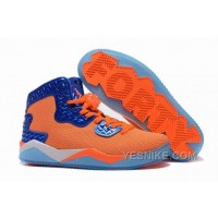 "Big Discount! 66% OFF! Jordan Air Spike 40 Forty PE ""Total Orange"" Total Orange/Game Royal-White For Sale ExMTm"