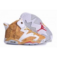Big Discount! 66% OFF! Air Jordan VI (6) Retro Yellow White NfsA6