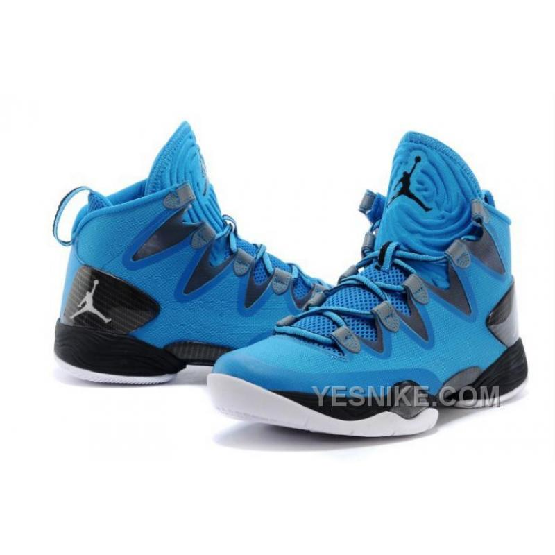Air JD XX8 SE Dark Powder Blue/White ...