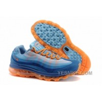 Big Discount! 66% OFF! Air Max 95 + 09 Femme Bleu/Orange