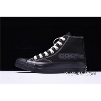 Icm62308 18 Ss Rei Kawakubo COMME Des GARCONS X Converse Addicts High Sulfide Canvas Sneakers Black White 1 Ck985 Top Deals