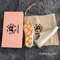 Converse One Star X Golf Le Fleur TTC Floret Be Vulcanized With More Than 160324 Pairs Of Sandy C10 Online