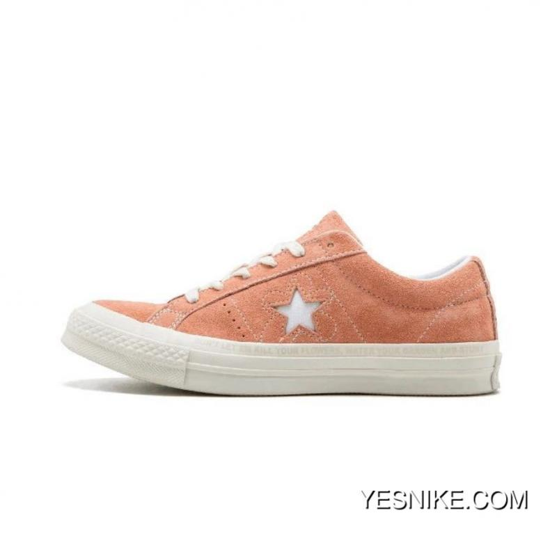 Converse One Star X Golf Le Fleur Be Limited Deerskin Bee TTC To Be Bee Pink 159434 C Size New Year Deals