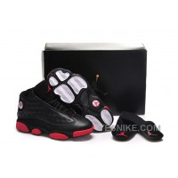 "Big Discount! 66% OFF! 2015 Air Jordan 13 GS ""Gym Red"" Black/Gym Red-Black Cheap For Sale"