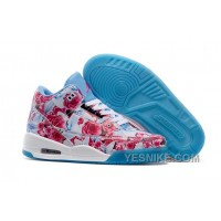 Big Discount! 66% OFF! 2016 Girls Air Jordan 3 School Season Pink Blue White Shoes NtbAP