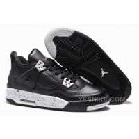 "Big Discount! 66% OFF! Girls Air Jordan 4 Retro ""Oreo"" For Sale Online"