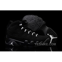 Big Discount! 66% OFF! Girls Air Jordan 9 Anthracite/White-Black For Sale