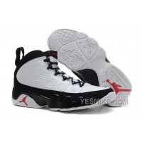 Big Discount! 66% OFF! Air Jordans 9 Retro White/Black-True Red For Sale