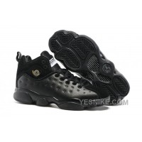 "Big Discount! 66% OFF! Jordan Jumpman Team 2 GS ""Raging Bull"" All-Black"