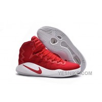 Big Discount ! 66% OFF! Girls Nike Hyperdunk 2016 University Red/White/University Red For Sale