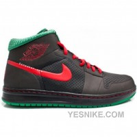 Big Discount! 66% OFF! Air Jordan 1 Alpha Christmas Boston Celtics Ray Allen Black Green Red