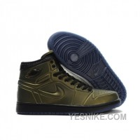Big Discount! 66% OFF! Air Jordan 1 Anodized Altitude Green Black 414823-301