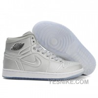 Big Discount! 66% OFF! Air Jordan 1 Anodized Metallic Silver White 414823-001