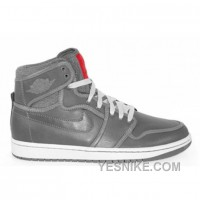 Big Discount! 66% OFF! Air Jordan 1 KO Premium Light Graphite Black Varsity Red 503539-001