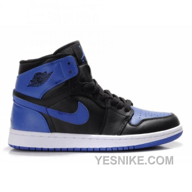 95144afaf6eff5 Big Discount! 66% OFF! Air Jordan Retro 1 High Royal Blue White Black ...