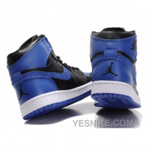 b5912c4ca040b9 ... Big Discount! 66% OFF! Air Jordan Retro 1 High Royal Blue White Black  ...