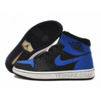 Big Discount! 66% OFF! Air Jordan Pas Cher - Air Jordan 1 (I) Noir/Bleu