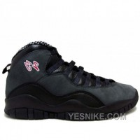 Big Discount! 66% OFF! Air Jordan Retro 10 Black Dark Shadow 310805-061