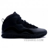 Big Discount! 66% OFF! Air Jordan Retro 10 Black White 310805-010