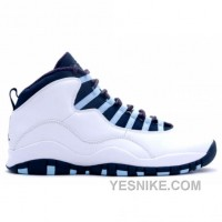 Big Discount! 66% OFF! Air Jordan Retro 10 Ice Blues White Obsidian Varsity Red 310805-141