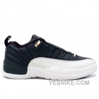 Big Discount! 66% OFF! Air Jordan Retro 12 XII Low Obsidian Blue White University Blue 308317-441
