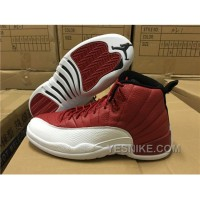 Big Discount! 66% OFF! Men's Air Jordan XII Gym Red 3Dten