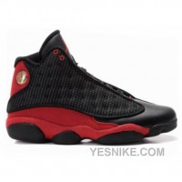 Big Discount! 66% OFF! Air Jordan 13s Og Black True Red 136002-062