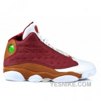Big Discount! 66% OFF! Air Jordan 13s Premio Bin23 Team Red Desert Clay White 417212-601