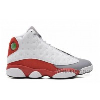 Big Discount! 66% OFF! Authentic 414571-126 Air Jordan 13 Retro White/Black-Gym Red-Cement Grey