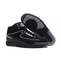 Big Discount! 66% OFF! Air Jordan 2 (II) Black-White Cheap For Sale Online MfMHi