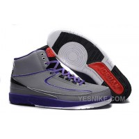 Big Discount! 66% OFF! Air Jordan 2 (II) Iron Purple Safari/Infrared 23-Dark Concord-Black For Sale KddmX