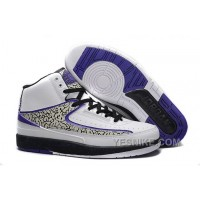 Big Discount! 66% OFF! Air Jordan 2 (II) Retro Elephant Print White/Concord-Black For Sale FdjtF