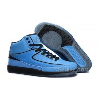Big Discount! 66% OFF! Air Jordan 2 (II) Retro University Blue/Black Online For Sale PDpc3